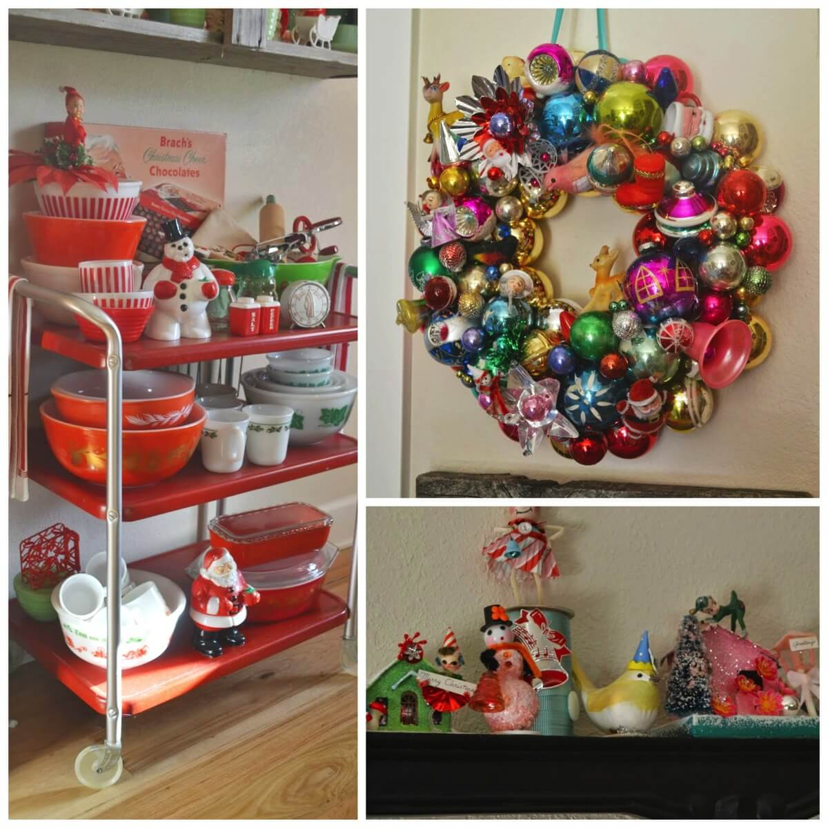 Colorful Vintage Christmas Decorations Inspiration Dig And Hang
