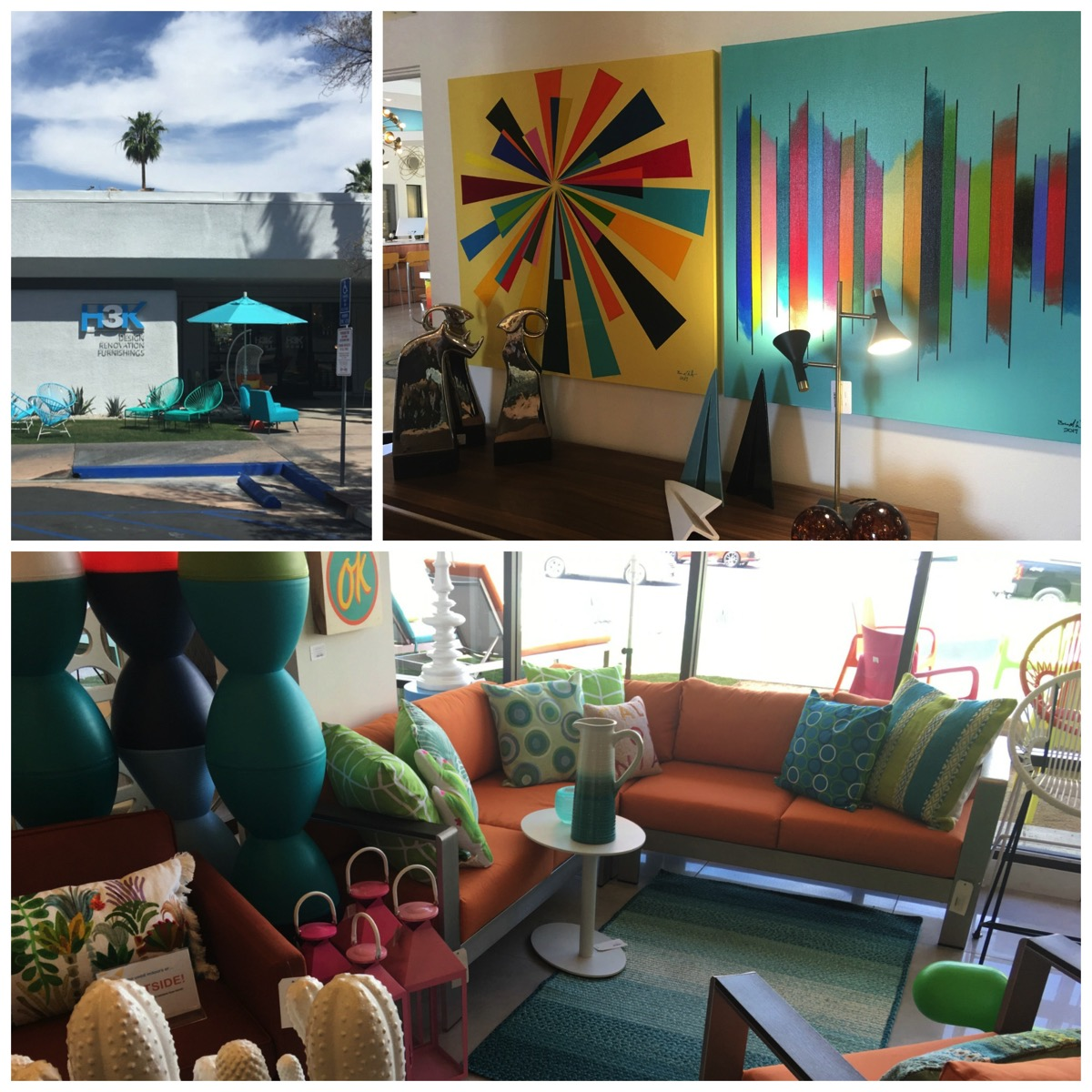 H3K Home Design store in Palm Springs