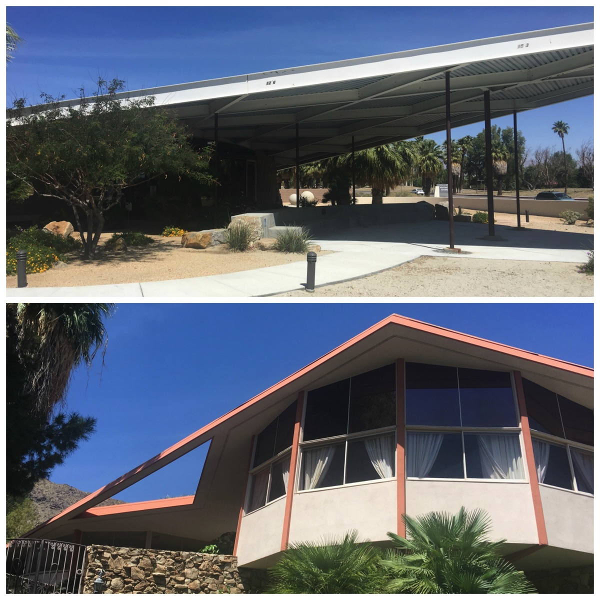 Elvis honeymoon mid century modern home palm springs