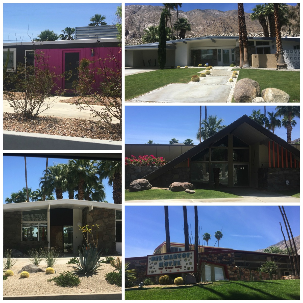 Mid century Modern Homes palm springs tour