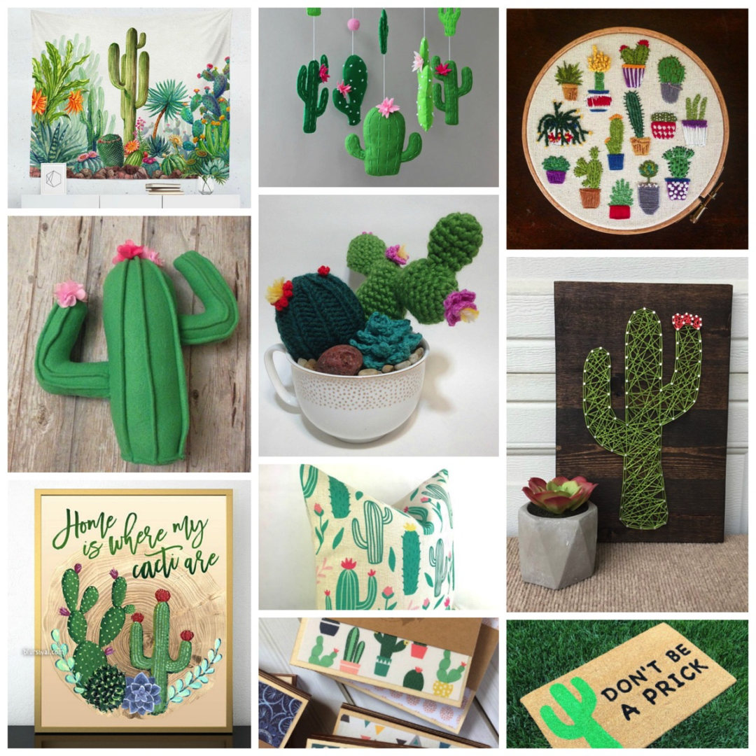 Top 10 Most Unique Cactus And Succulent Home Decor Gifts Online Dig Hang