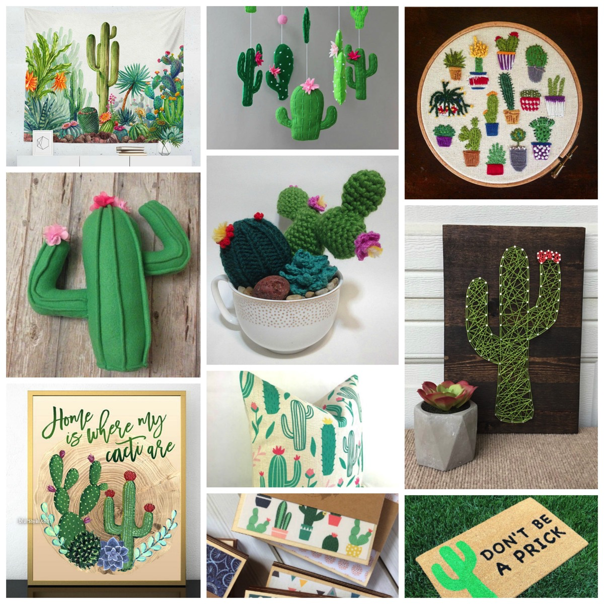 Top 10: Most Unique Cactus and Succulent Home Decor Gifts Online