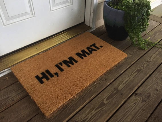 Top 10: Most Unique and Funny Home Front Door Welcome Mats Online