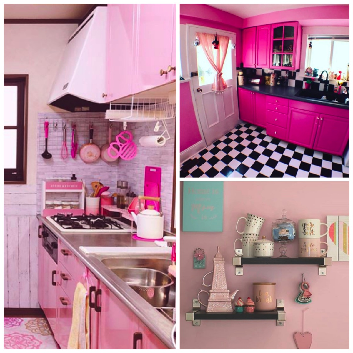 Colorful Home Pink Inspired Home Decor Ideas