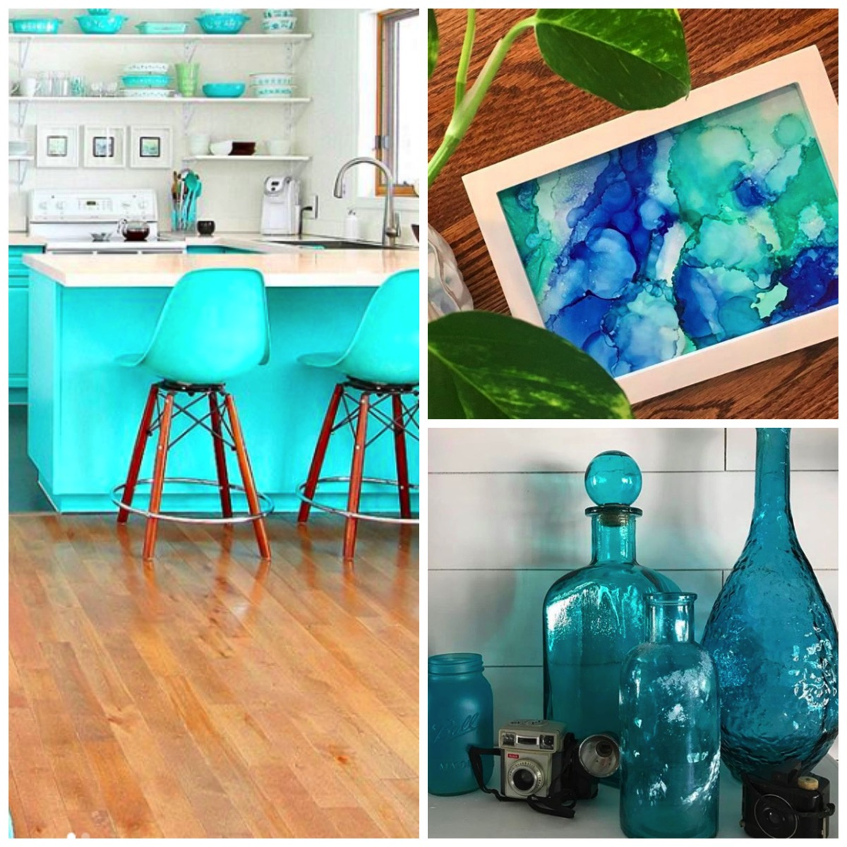 Teal home decor inspiration