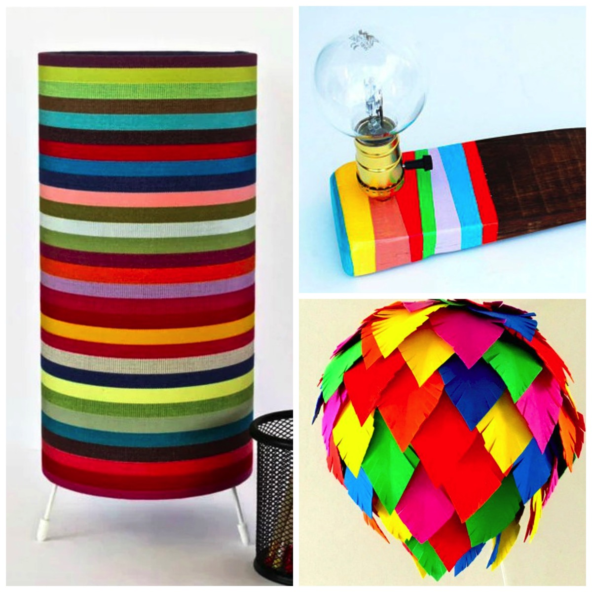 Colorful lights and lamps for your home