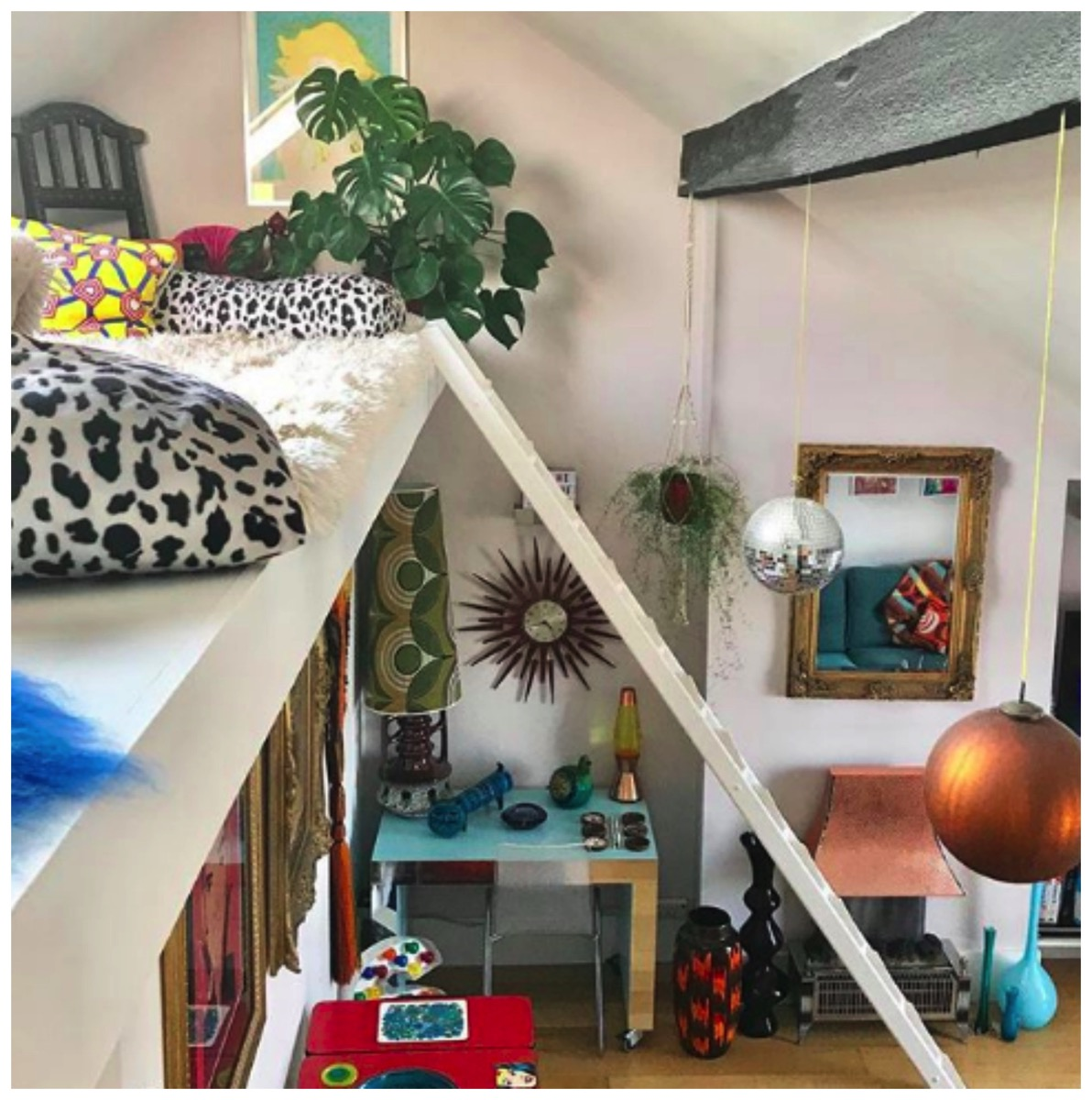 Colorful and fun home tour of stuart eminson