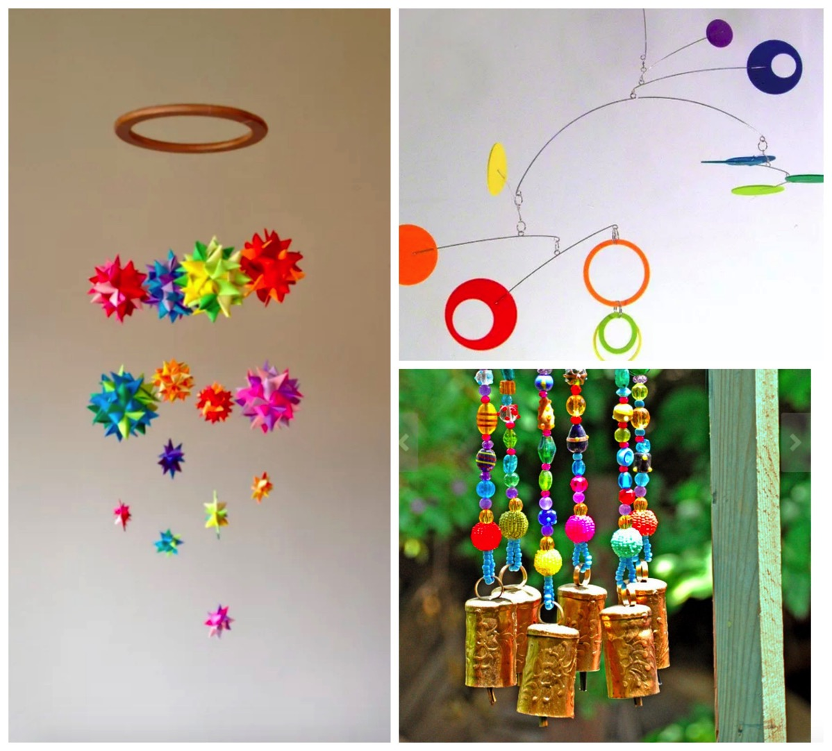 Top ten most colorful boho mobiles