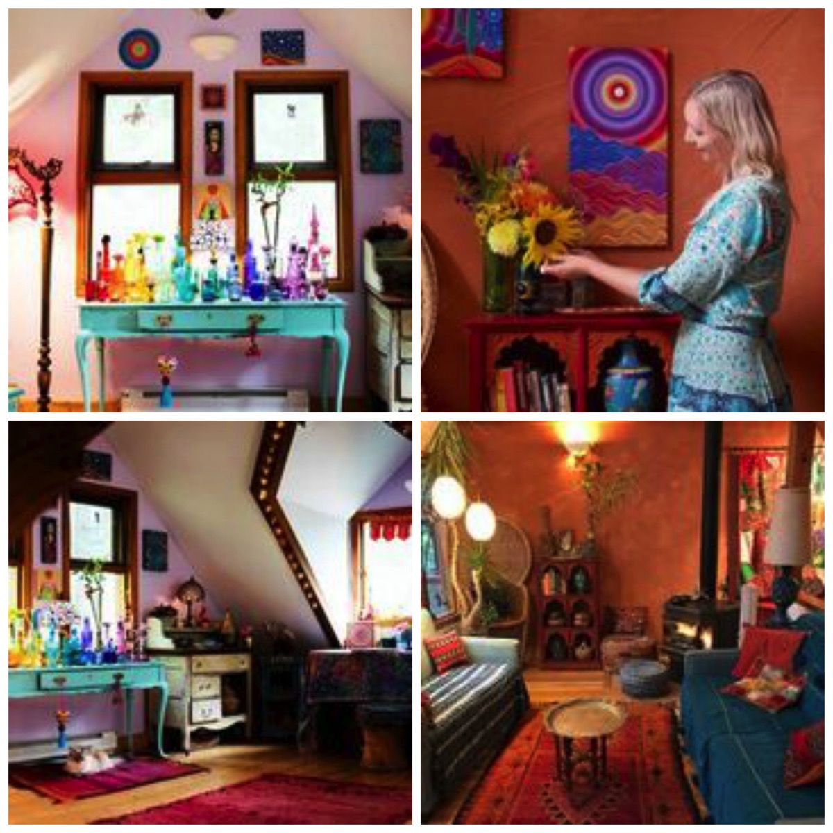 Elspeth mclean home tour featured mandala stone artist