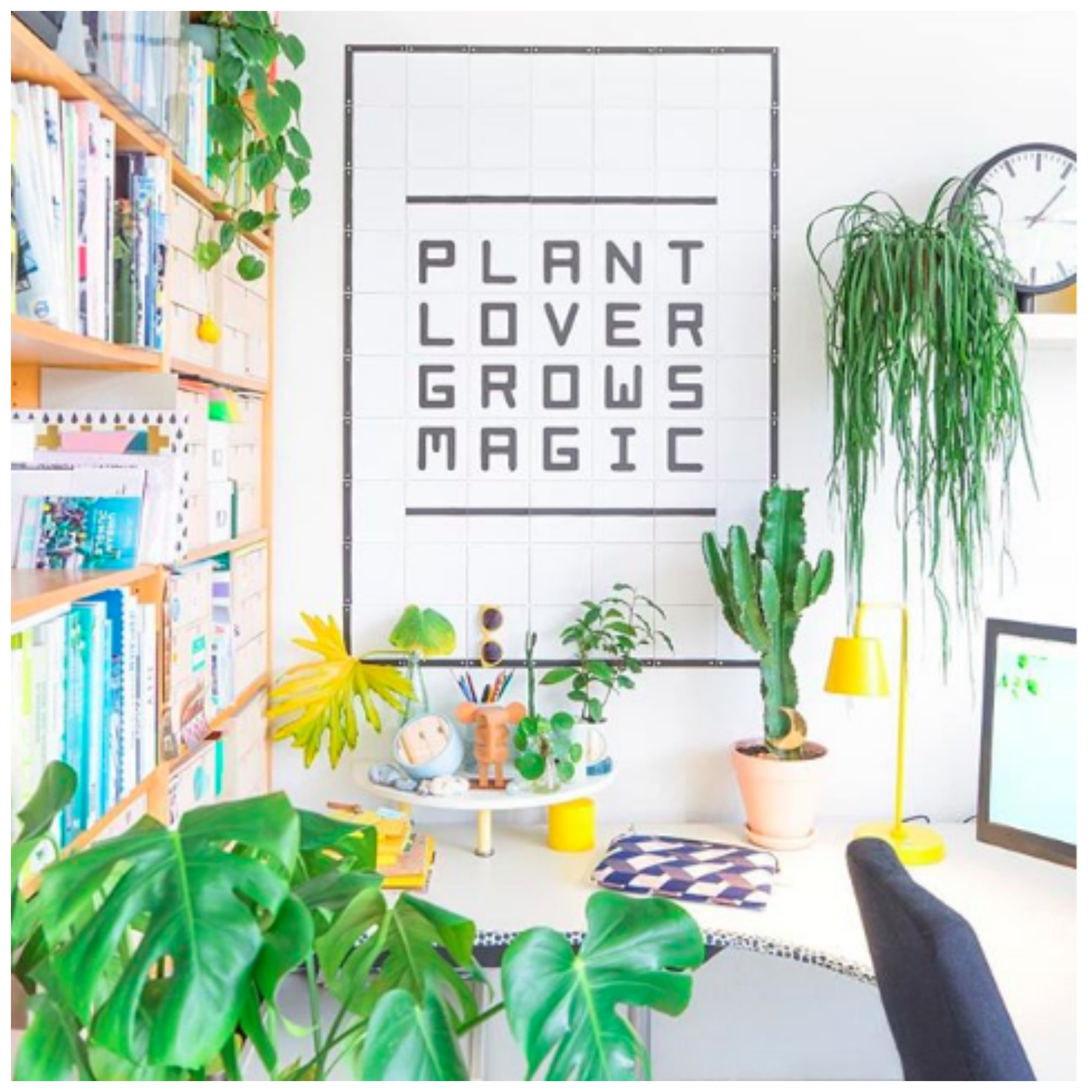 Home Tour: Judith de Graaff's Bright and Vibrant Plant Filled Home In France