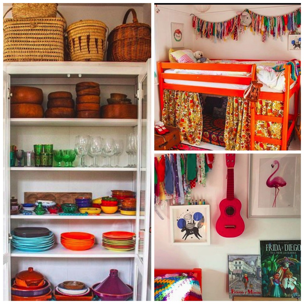 Colorful boho home FridaFlorentina