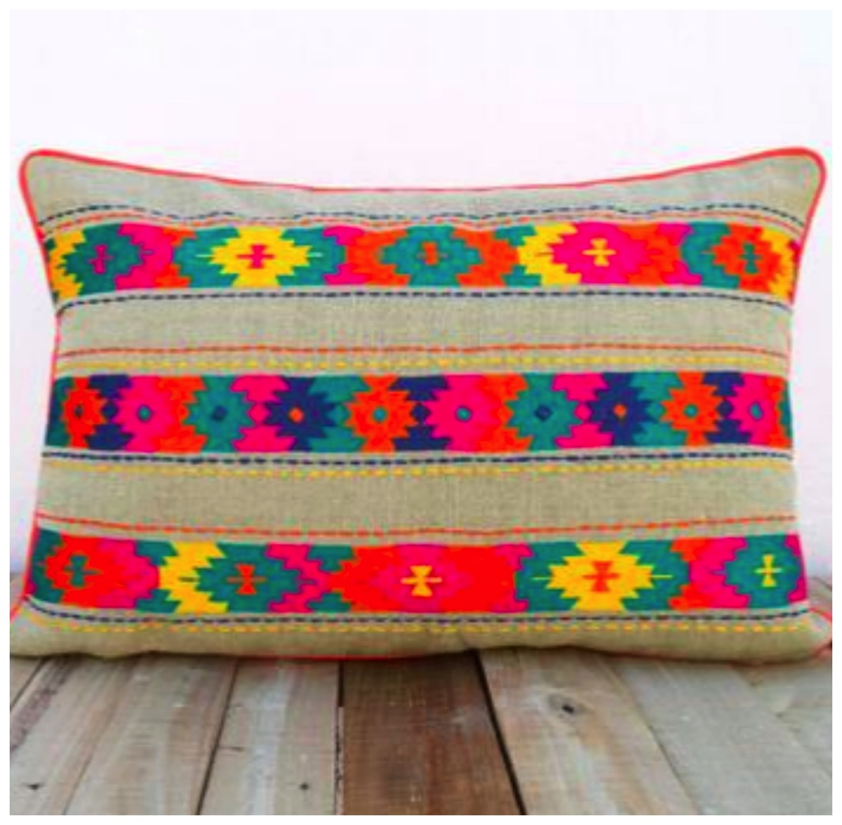 Boho colorful pillow for home decorative pillow dig and hang best bold and colorful pillows