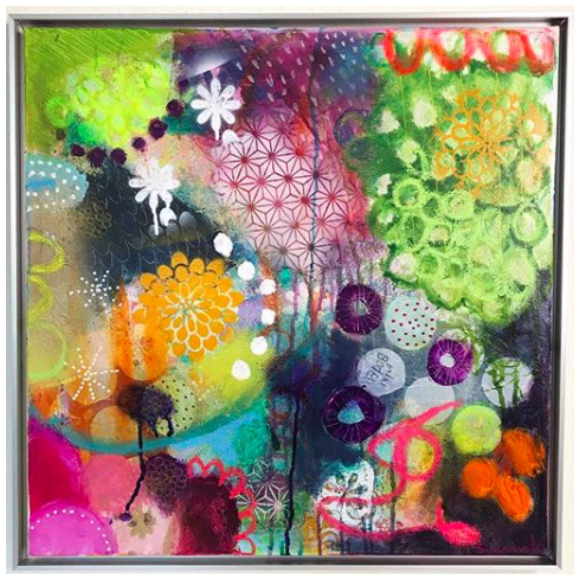 Artist Interview: Susanne Kurwig's Colorful Nature Inspired Floral Media Media Art Will Take You On A Journey Of Joyful Emotions
