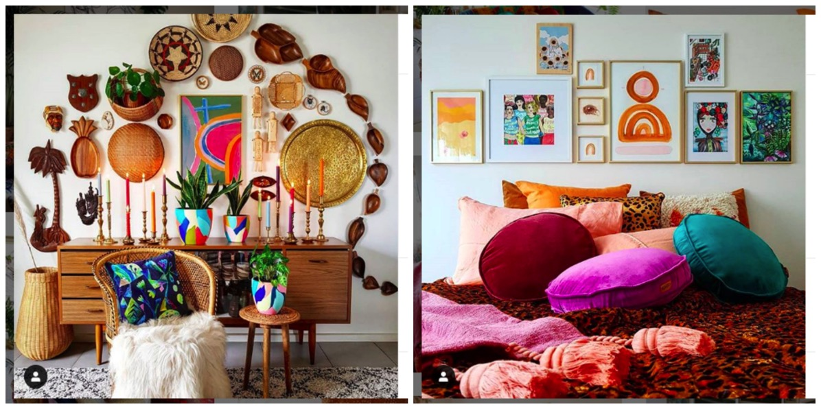 Whatever Happened To Miss Wolf colorful boho decor for the home