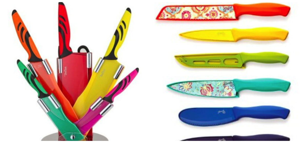 Colorful knife sets for your home