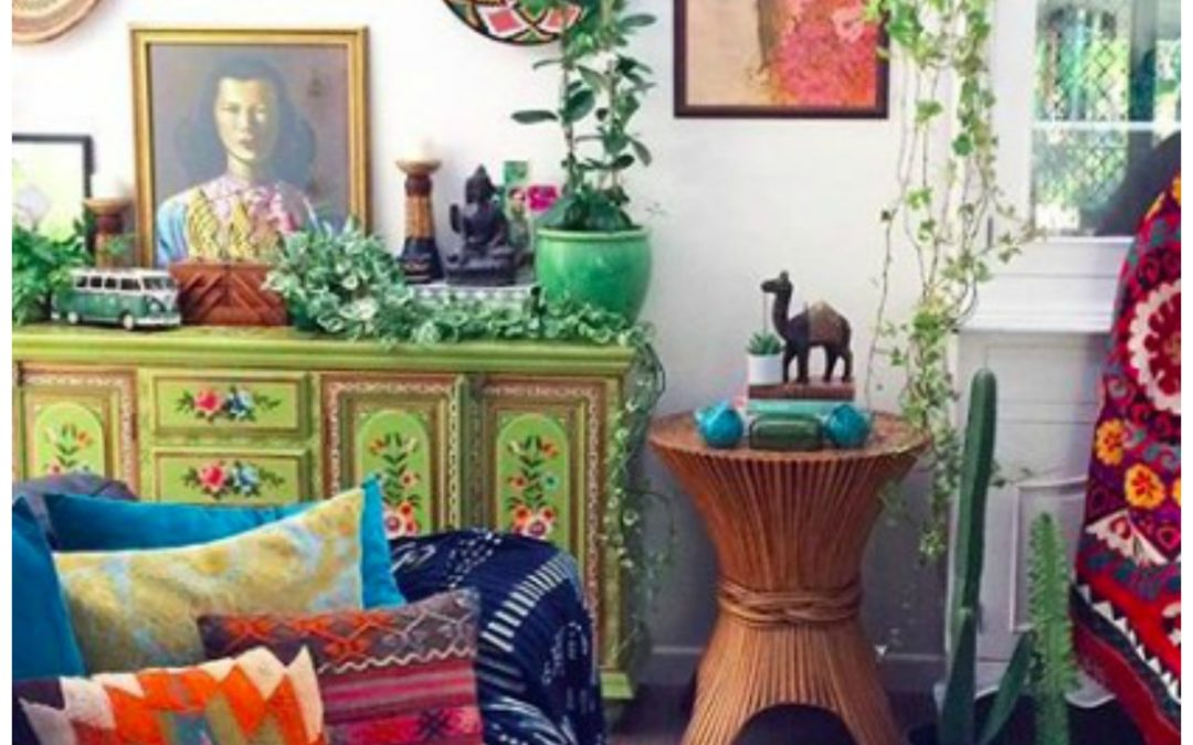Be Transported to the Colorful, Tropical, Lush Bohemian Paradise Home of La Boheme House Of The Wishing Tree