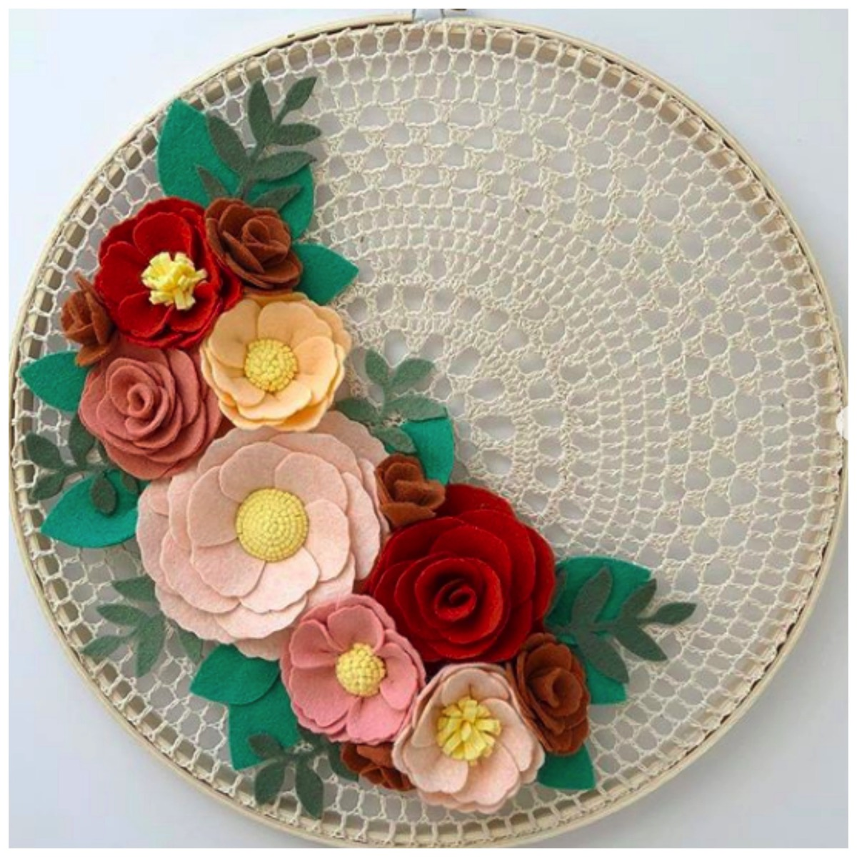 Clemmy lou designs colorful floral art for home