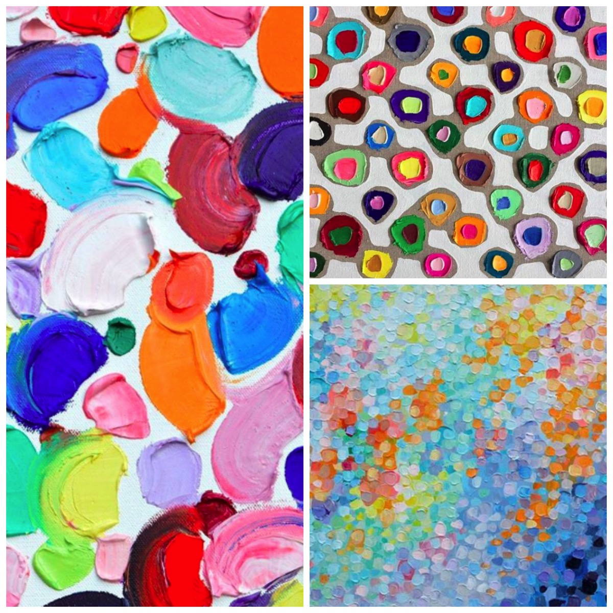 Marie ann coolick colorful abstract paintings and prints for home