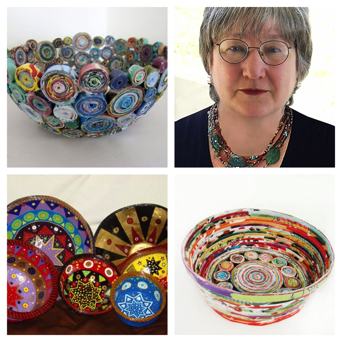 Jd Crafts unlimited colorful bowls baskets