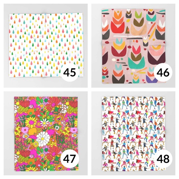 Colorful throw blanket list 1  11