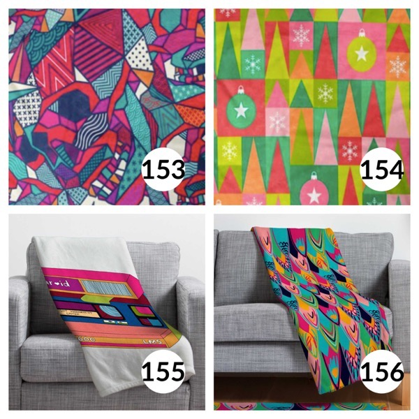 Colorful throw blanket list 1  38